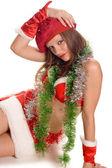 Sexy Santa Girl — Stock Photo