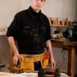 Stock Photo: Carpenter