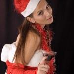 Santa Girl — Stock Photo #2255058