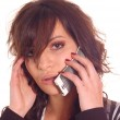 Making a call — Stock Photo #2255263