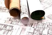 Architektur-projekt — Stockfoto