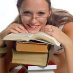 Student girl — Stock Photo #2262010