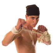 拳击手 — 图库照片