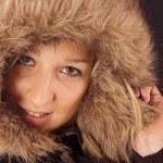 Portrait nice girl — Stock Photo
