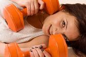 Fitness tjej — Stockfoto