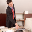 Businessman at office — Stock Photo #2289412