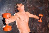 Vücut geliştirmeci — Stok fotoğraf