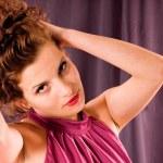 Portrait sensual woman — Stock Photo