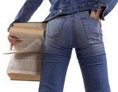 Jeans girl — Stock Photo