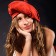 Red beret — Stock Photo #2359972