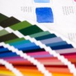 color chart — Stock Photo
