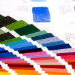 Stock Photo: Color guides