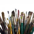 Stock Photo: Painting brushes