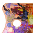 Painting palette - Foto Stock