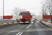 Train barrier — Stock Photo