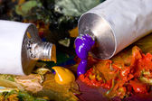 Paint tubes — Stock Photo