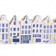 Porcelain dutch houses — Stock Photo #2155173