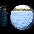 SEA WINDOW - Stock Photo