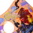 Painting palette — Stock Photo