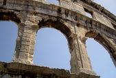 Ancient amphitheatre — Stock Photo