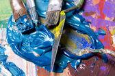 Malarstwa abstrakcyjnego — Zdjęcie stockowe