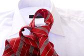 Red tie — Stock Photo