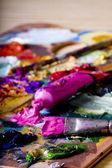 Equipamento artístico — Fotografia Stock