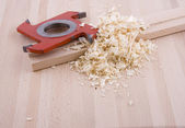 Woodworking tool — Stockfoto