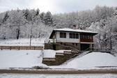 Snöig mill3 — Stockfoto