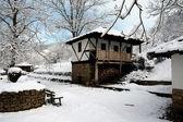 Snowy mill4 — Stock Photo