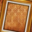 Vintage old picture frame — Foto de Stock