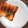 Stock Photo: Roach on plate