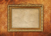 Vintage old picture frame — Stockfoto