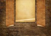 Rotoli di carta vecchio vintage — Foto Stock