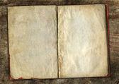 Vecchio libro aperto — Foto Stock