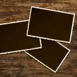 Stock Photo: Vintage photo frames