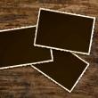 Vintage photo frames — Stock Photo