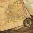 Stock Photo: Vintage old map