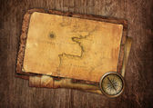 Vintage old map — Stockfoto