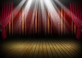 Theater podium — Stockfoto