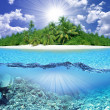 Tropical island - Foto Stock