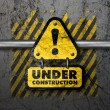 Under construction - Foto Stock