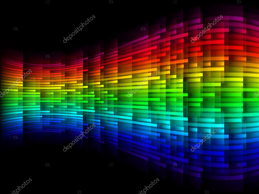 Dynamic band colored light — Stock Photo #2135380