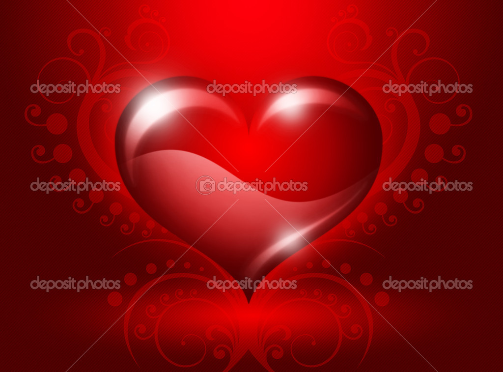 Heart Valentines Day — Stock fotografie #2136022