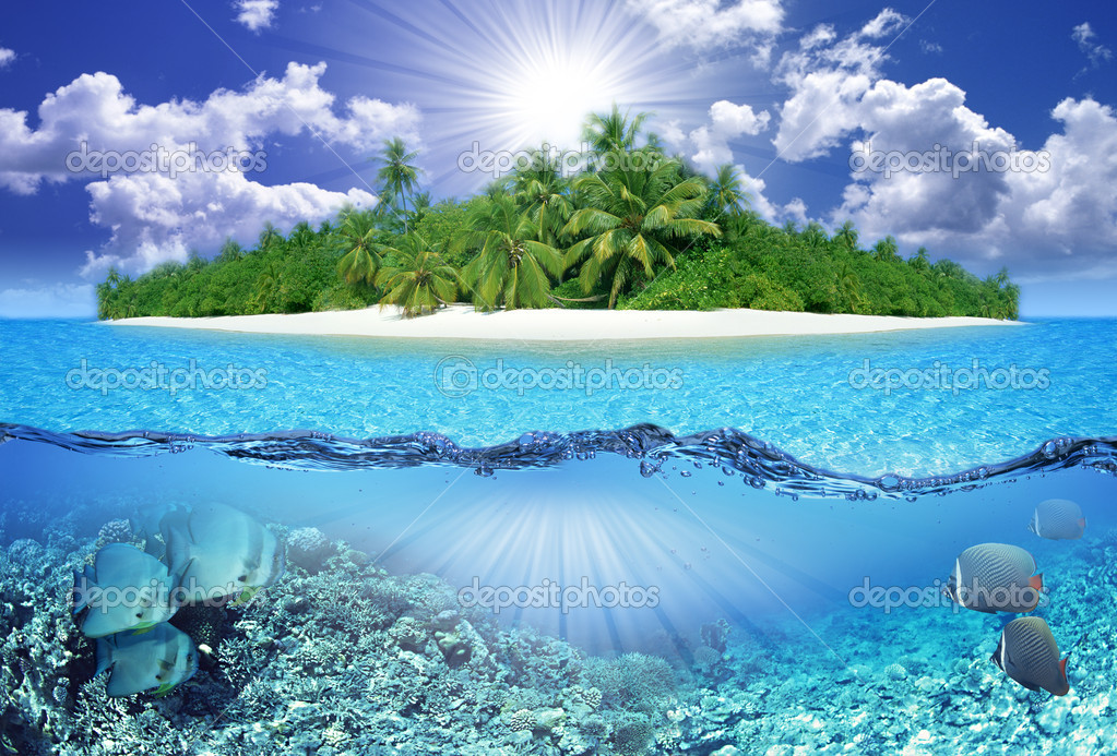 Tropical island  Stock Photo #2137657