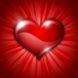 Heart for the feast of St Valentine - Foto de Stock