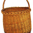 Foto Stock: Basket braided
