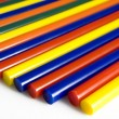 Glueing pencils - Stockfoto