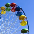 Empty Ferris wheel — Stock Photo