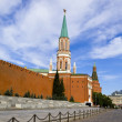 Moscow, Kremlin wall and Kremlin. — Stock Photo #1782105